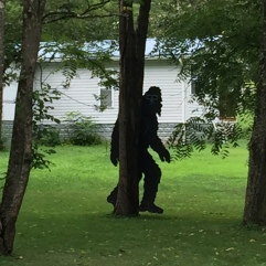 Big Foot on the loose!
