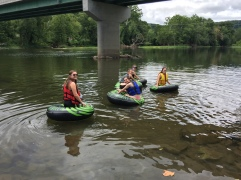 A great day to float down the Greenbrier River!
